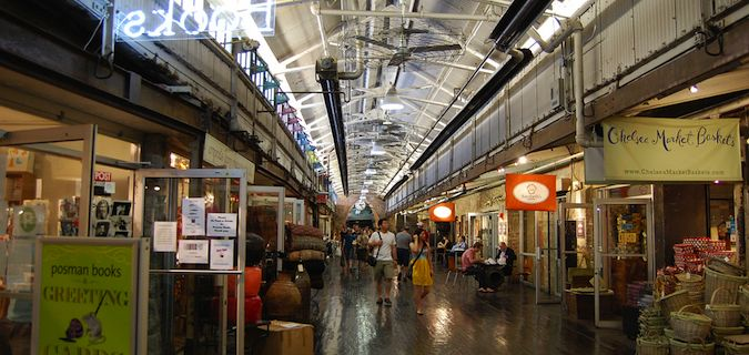 The Chelsea Market is a great place to eat in NYC