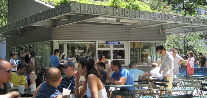 Shake Shack is a great place to eat in NYC