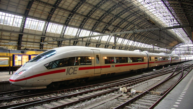 trains in europe with a eurail pass