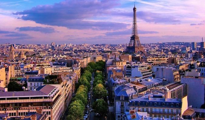 The city of Paris