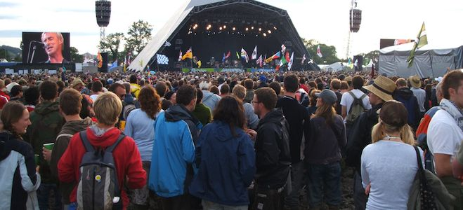 glastonbury festival in england