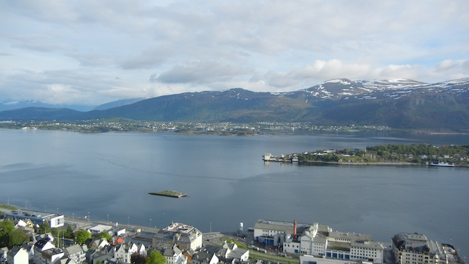 The Alesund Fjord is quite a sight to see in Norway