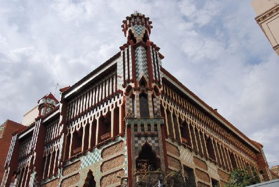 Casa Vicens in Barcelona, Spain