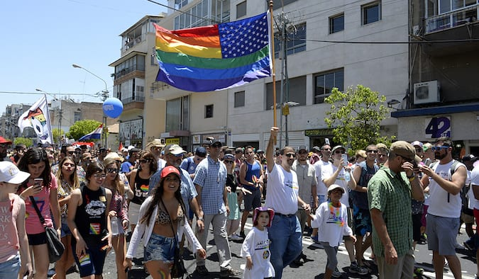 gay pride parade held in Dallas Texas