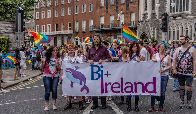 global gay pride parade in Dublin Ireland