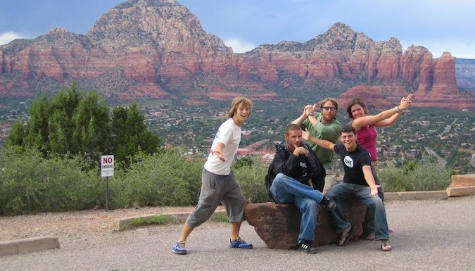 living the dream in Sedona
