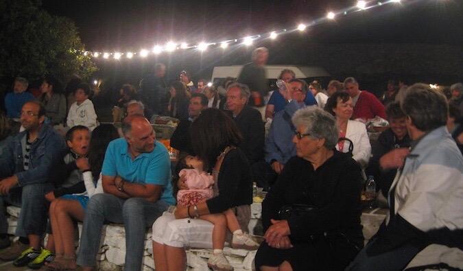 a festival in greece