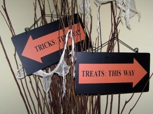 Halloween tick or treat