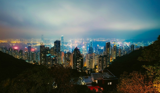 Hanging out in Hong Kong
