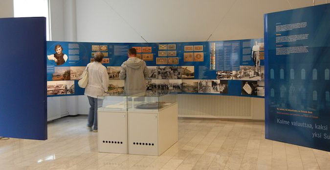The Bank of Finland Museum in Helsinki is a great place to visit