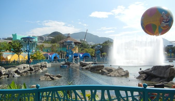 ocean park theme park in hong kong