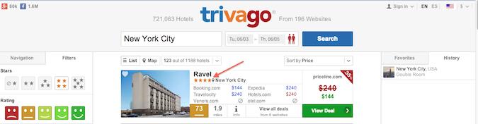 bad trivago listings