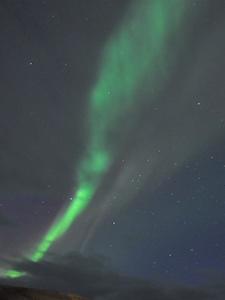 northern lights in Iceland around myvatn