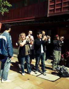 g adventures tour in Japan with nomadic matt