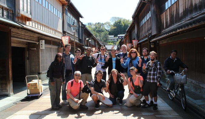 g adventures tour in Japan with nomadic matt