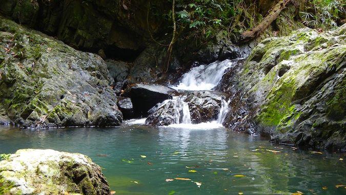 Waterfall in Khao Sok Park