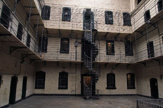 The Old Kilmainham Gaol (jail) in ireland