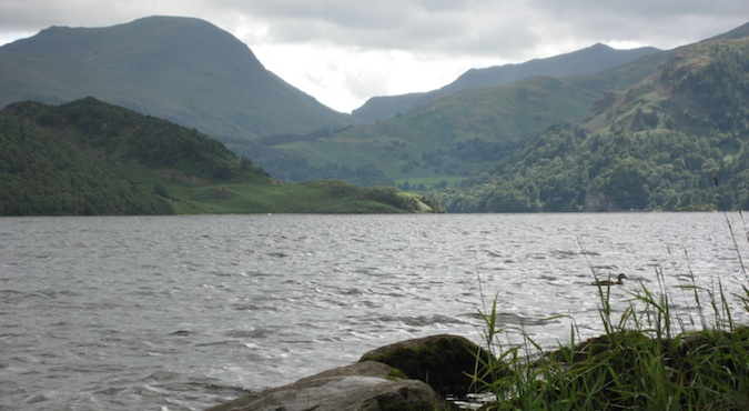 The lake that makes up the Lake District in the UK