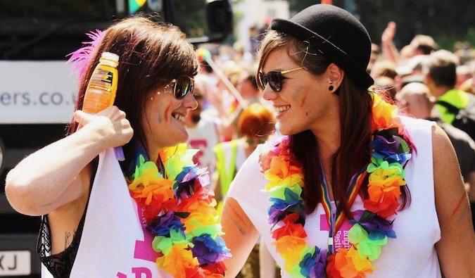 Lesbians traveling