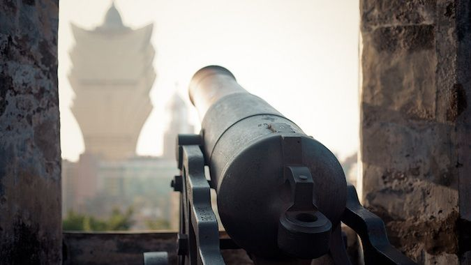 a view from guia fortress macau