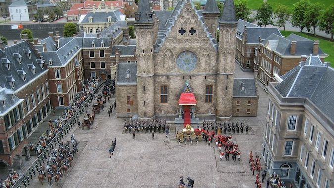 The Royal Palace at Den Hague, Netherlands