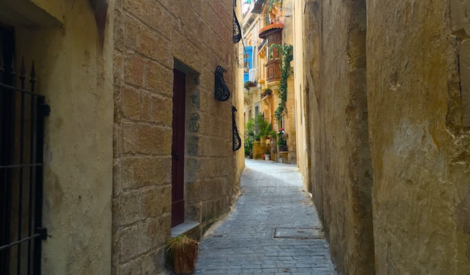 historic monument in malta