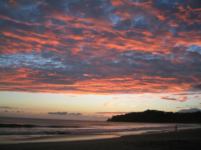 Manuel Antonio Sunset in Costa Rica
