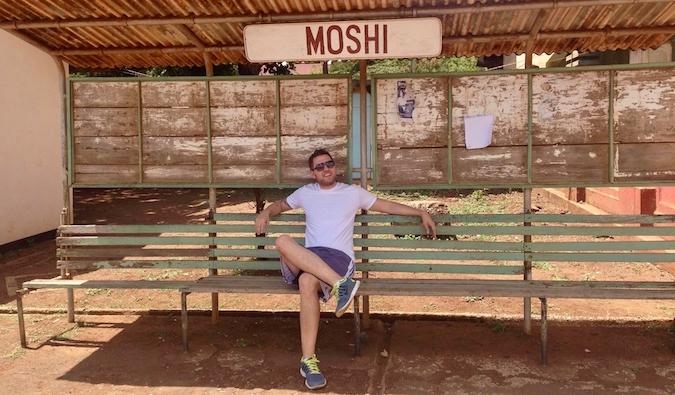 Mark Manson in Moshi