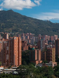 A city view of Medellin, Colombia