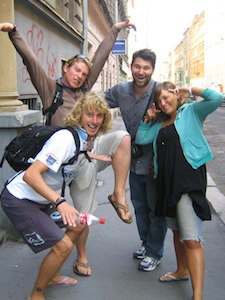 Meeting people with couchsurfing