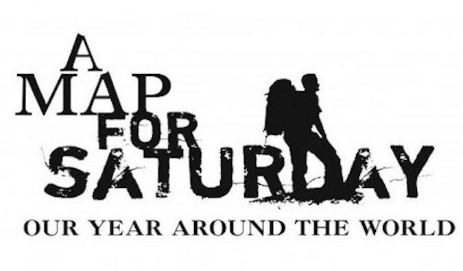 a map for saturday documentary logo
