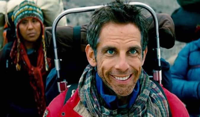 backpacking scene from the secret life of walter mitty with ben stiller