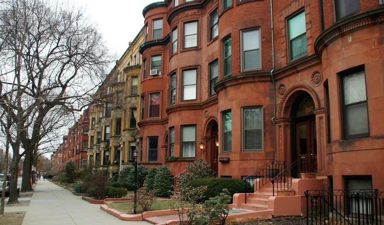 Beautiful Boston row homes