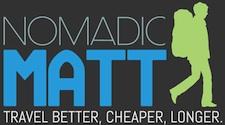 nomadicmatt logo