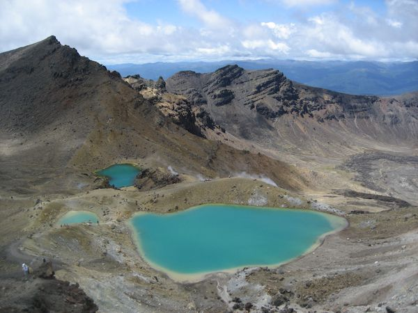 The Tongariro Crossing in NZ is a sight to see