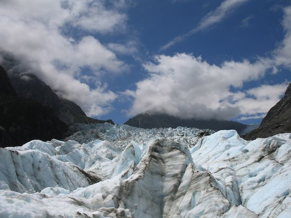 Incredible glaciers in New Zealand