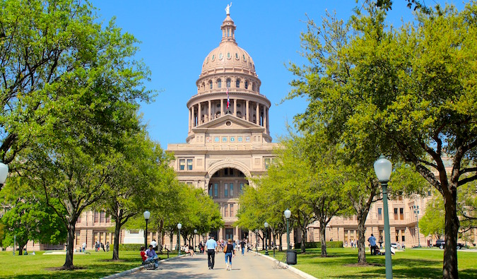 the capitol building in austin, tx