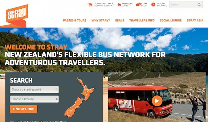 Stray Travel New Zealand