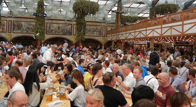 Oktober fest is an extremely popular event in Munich, Germany