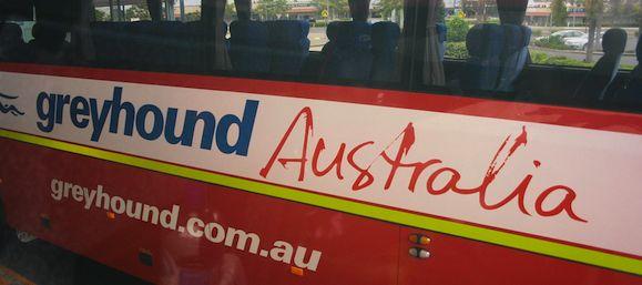 greyhound bus in australia