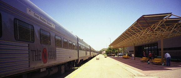 train travel in australia