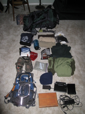 Packing a Backpack