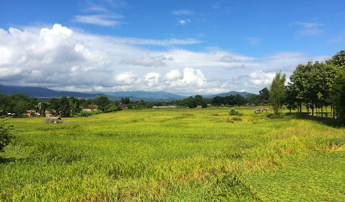 pai, thailand and its beautiful countryside
