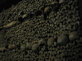 Paris Catacombs skulls
