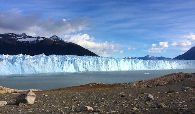 Perito Moreno glacier outside El Calafate