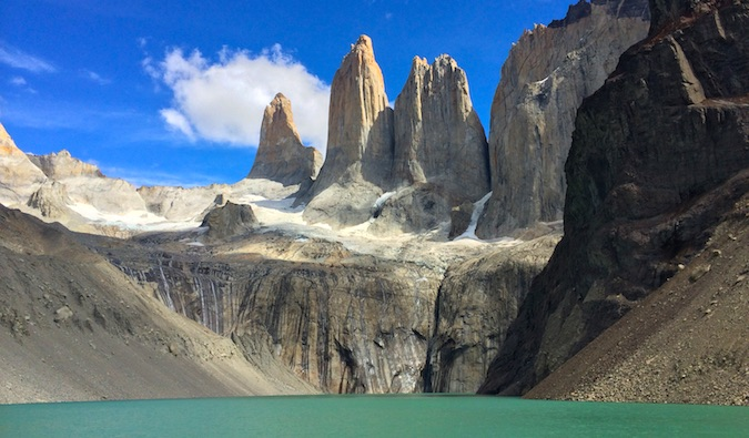Las Torres in Torres del Paine National Park