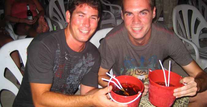 buckets in thailand