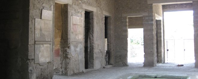 The House of Sallustio at Pompeii