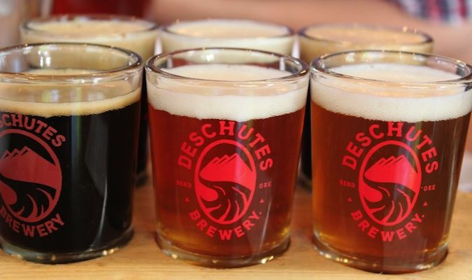 Deschutes brewery beers in portland, oregon