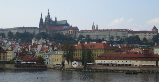 the beautiful architecture of prague